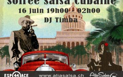 Soirée Salsa – Bachata 16 juin 2018