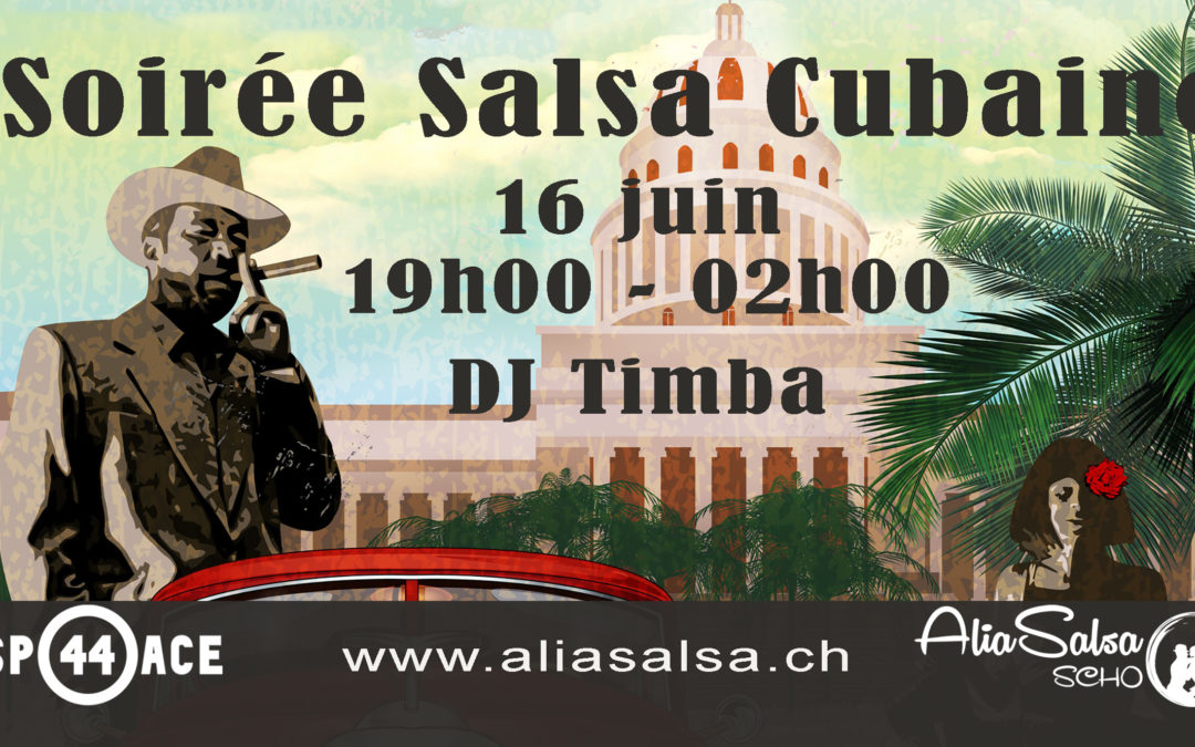 16 juin – Soirée salsa et bachata